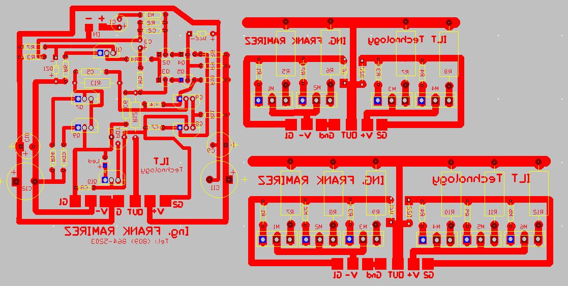 AMPLIFICADOR CON MOSFET 400 WATT