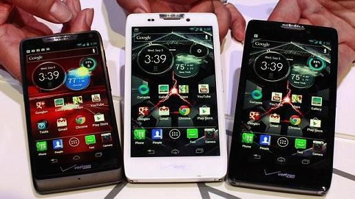 Motorola presenta tres nuevos «smartphones»